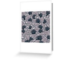 Stop and Smell the Roses B&W Greeting Card