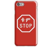 Stop, Road Sign, Ethiopia iPhone Case/Skin