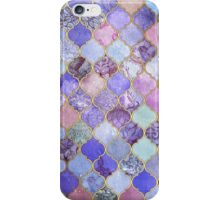 Purple Tiles iPhone Case/Skin