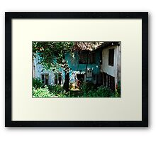 Derelict Building in Travnik Framed Print