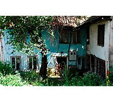 Derelict Building in Travnik Photographic Print