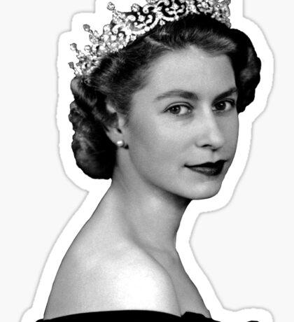 Elizabeth II Sticker
