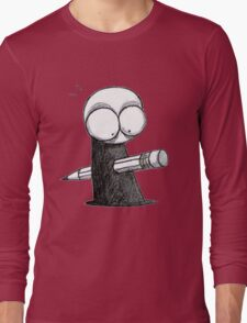 Murdered by illustrator Long Sleeve T-Shirt