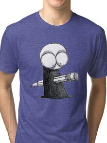 Murdered by illustrator Tri-blend T-Shirt