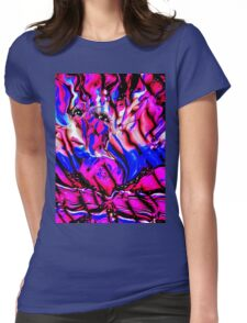 Ribbon Candy Womens Fitted T-Shirt