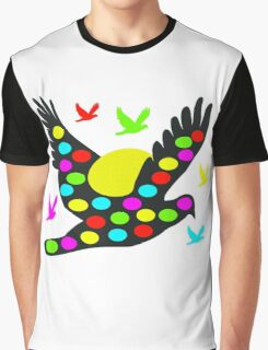 Black Easter bird Graphic T-Shirt