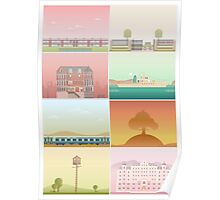 The Films of Wes Anderson Poster