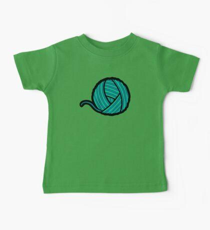 Wool & Yarn Pattern Baby Tee