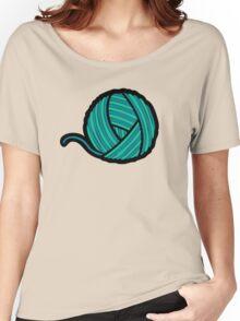 Wool & Yarn Pattern Women's Relaxed Fit T-Shirt