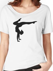 B&W Contortionist Women's Relaxed Fit T-Shirt