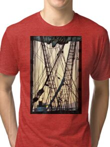 Between Two Masts Tri-blend T-Shirt