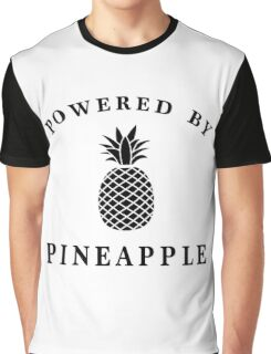Powered by Pineapple Graphic T-Shirt