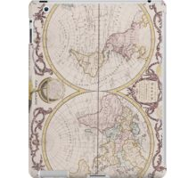 Vintage Map of The World (1782) iPad Case/Skin