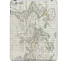 Vintage Map of The World (1784) iPad Case/Skin
