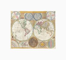 Vintage Map of The World (1794) Unisex T-Shirt