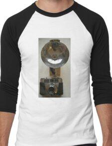 Kodak Vintage Camera Poster Print Men's Baseball ¾ T-Shirt