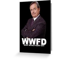 What would Feeny do? no Greeting Card