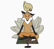 Brave Chicken, Zen Fox Kids Tee