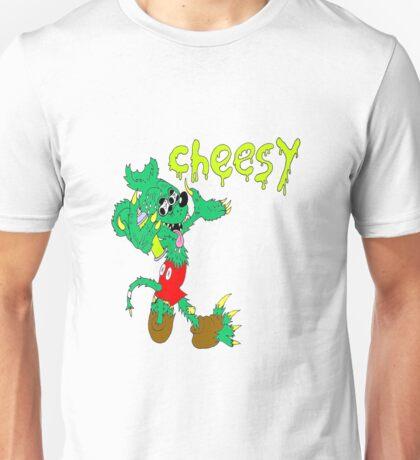 icky mouse rat fink cheesy graffiti Unisex T-Shirt