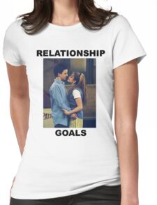 Boy Meets World Relationship Goals Womens Fitted T-Shirt