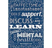 Support Mental Health Photographic Print