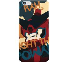 RAH RAH FIGHT THE POWER iPhone Case/Skin