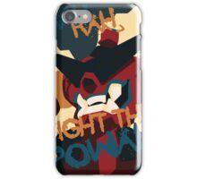 RAH RAH FIGHT THE POWER iPhone Case/Skin