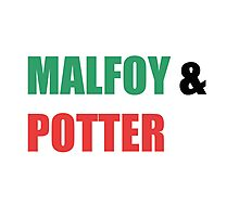 Malfoy & Potter Photographic Print