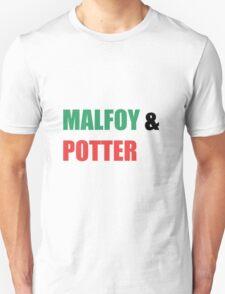 Malfoy & Potter Unisex T-Shirt