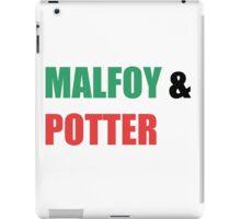 Malfoy & Potter iPad Case/Skin