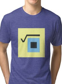 Square root Tri-blend T-Shirt