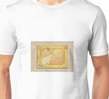 Sundial on Exterior of Friulian Farming Culture Museum Unisex T-Shirt