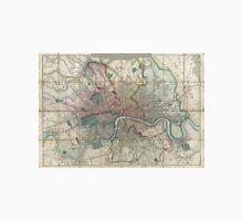 Vintage Map of London England (1852) Unisex T-Shirt