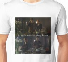 Magnus and Clary.  Unisex T-Shirt