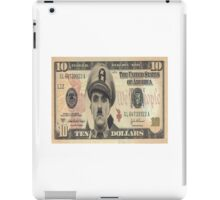 charlie chaplin the great dictator iPad Case/Skin
