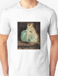 Henri de Toulouse-Lautrec  - The White Horse Gazelle (1881) T-Shirt