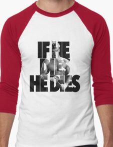 Ivan Drago T-Shirt (If he dies, he dies) Men's Baseball ¾ T-Shirt