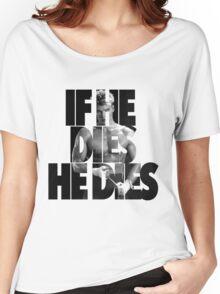 Ivan Drago T-Shirt (If he dies, he dies) Women's Relaxed Fit T-Shirt