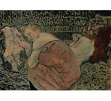 Henri de Toulouse-Lautrec  - Two Friends (1895) Woman Portrait Photographic Print