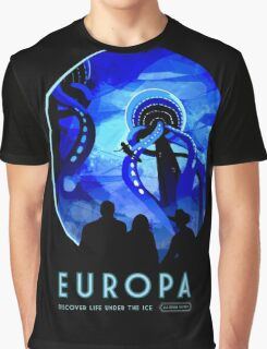 Visions of the future- Europa Graphic T-Shirt