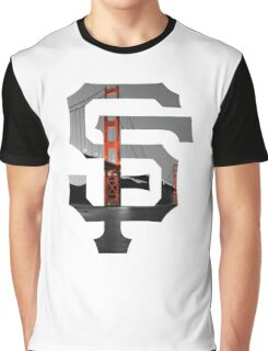 SF Giants White Graphic T-Shirt