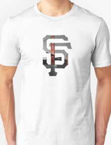 SF Giants White Unisex T-Shirt