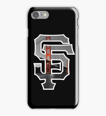 SF Giants Black iPhone Case/Skin