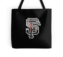 SF Giants Black Tote Bag