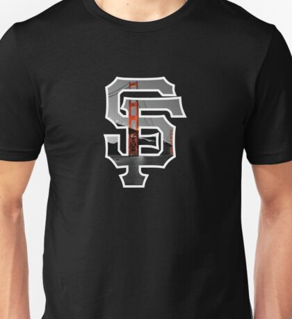 SF Giants Black Unisex T-Shirt