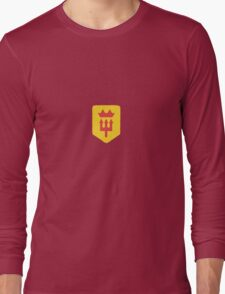 Manchester United Minimalist Football Design Long Sleeve T-Shirt