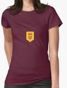 Manchester United Minimalist Football Design Womens Fitted T-Shirt
