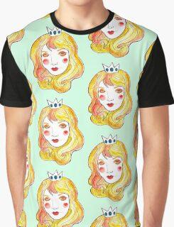 Mint Peach  Graphic T-Shirt