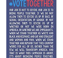 Vote Together Photographic Print