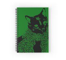 Class Cat Spiral Notebook